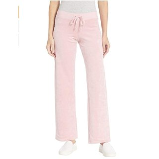 售价$22.99 面料超酥服Juicy Couture 天鹅绒休闲裤热卖