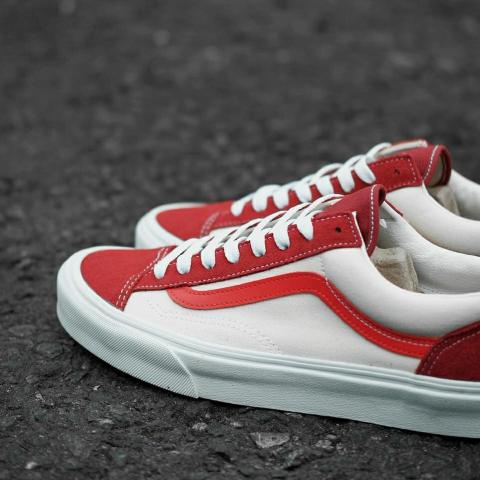 大促区5折,清仓区6.5折起Vans 精选热门帆布鞋热促 网红Style 36、联名款卫衣都参与