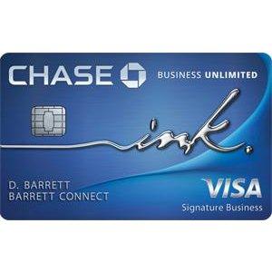 Earn $750 bonus cash backInk Business Unlimited® Credit Card