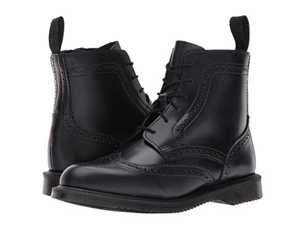 6孔布洛克短靴