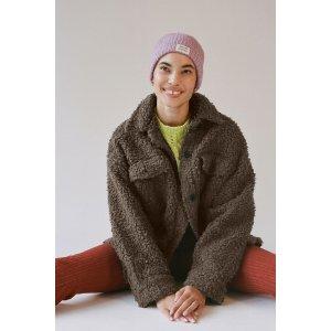 Urban OutfittersUO Palmer Sherpa Shirt Jacket