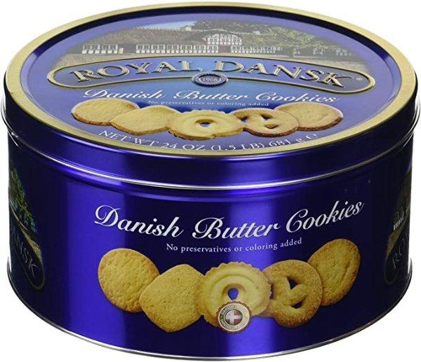 热销丹麦黄油饼干 1.5磅装