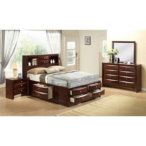 Madison 卧室家具4件套 Queen床
