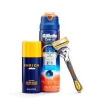 Gillette 剃须护理3件套