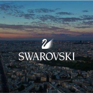 低至5折 £51收红心双手链Swarovski官网 大促区换品上新 天鹅戒指、星芒项链超划算