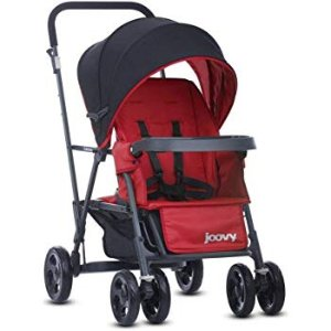 $104.12Joovy Caboose Graphite Stand On Tandem Stroller,Red @ Amazon