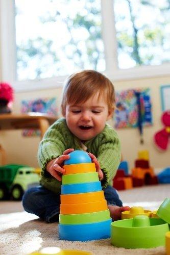 儿童益智彩色叠叠乐玩具