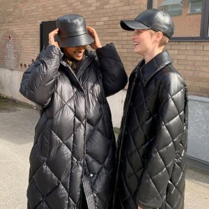 StandDorothea puffer coat 绗缝棉服