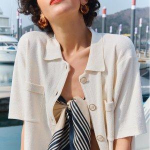 低至2折 £46收花花T恤W Concept 本月最受欢迎单品热销 收韩式简约时尚