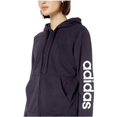 20.04adidas Women's Essentials Linear Full-zip Hoodie