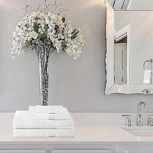$28.99(原价$69.99)Utopia Towels 高级浴巾8件套