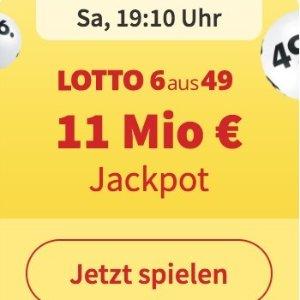 周三/六开奖 无需身份验证Lotto 6aus49 奖金累计1100万欧元 6次机会只要1欧
