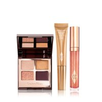 Charlotte Tilbury THE QUEEN OF GLOW 眼影盘+液体高光