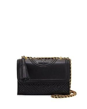 Tory Burch Fleming Small Convertible Shoulder Bag | Neiman Marcus