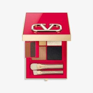 Valentino可日常可摇滚!8色双层眼影盘