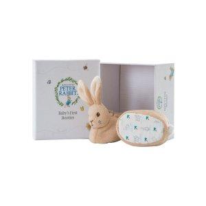 满$50送娇韵诗护肤品彼特兔婴儿袜一套