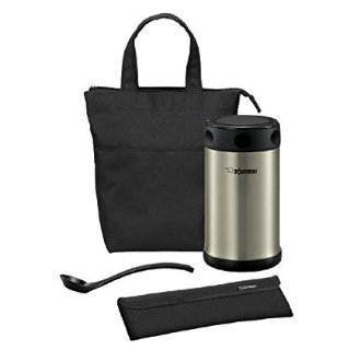 $39Zojirushi 不锈钢真空保温杯 焖烧罐 配备午餐包和餐勺