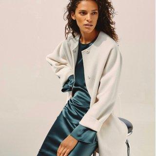 低至3.5折 一字肩上衣$117Theory 精选秋冬美衣热卖 入优雅风衣、职装