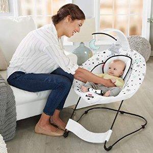 $33.99起史低价:Fisher-Price 婴幼儿电动摇椅、蹦床、高脚餐椅热卖