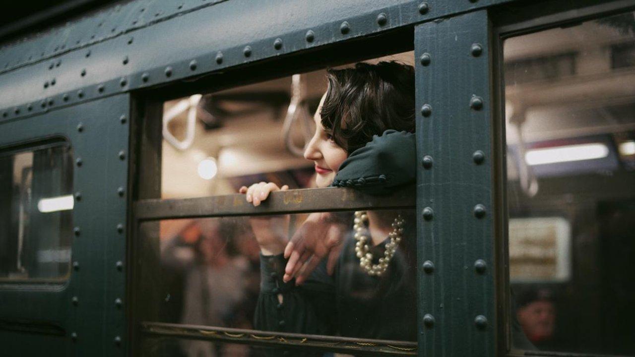 🚇 坐纽约节日复古小火车,当上个世纪最靓的仔✨