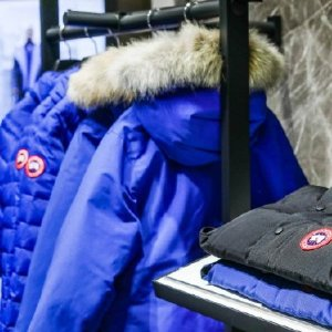 新用户9折 £495起收加拿大鹅补货:Canada Goose 羽绒服闪现折扣 男款远征有货
