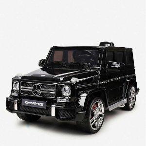 £70收手推奔驰童车 嗯哼同款收起来Smartway 儿童电动汽车热促 新年送宝宝的最好礼物