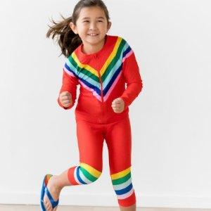 6折+新用户额外8折Hanna Andersson 儿童泳衣促销 有长袖长裤款不怕水凉