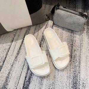多色可选夏季新款糖果色沙灘拖鞋