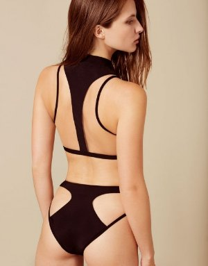 Marlene Black and Nude Bikini Bottom | By Agent Provocateur