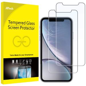 $6.78闪购:JETech  iPhone XR 屏幕钢化保护膜3个装