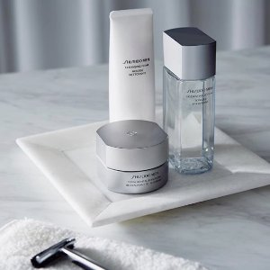 Last Day: Dealmoon Exclusive Free 4-pc Gift(Value $102)With  $100+ Men's Skin Care @ Shiseido