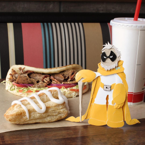 Free Signature SandwichPurchase of a Small or Large Drink @Arby's