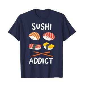 For $13.07 Sushi T Shirt Funny Tee@Amazon.com