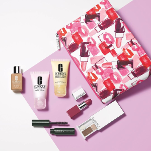 It's that time of year!Build your free 7-piece gift with gift sets $29 purchase. Plus, spend more to get more and choose up to 11 pieces when you spend $75. @ Clinique