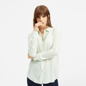 EverlaneThe Clean Silk Relaxed Shirt