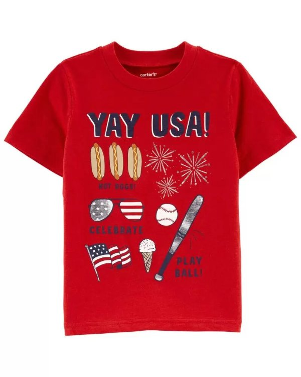 小童YAY USA!T恤