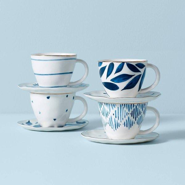 茶杯4件套