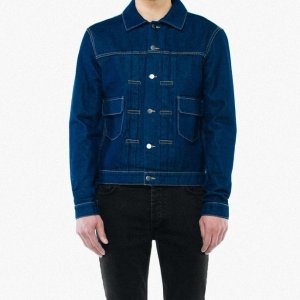 Denim Trucker Jacket | American Apparel