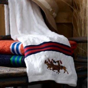 全场5折起+额外85折限今天:Ralph Lauren, Hotel Collection 等品牌毛巾、浴巾特卖会