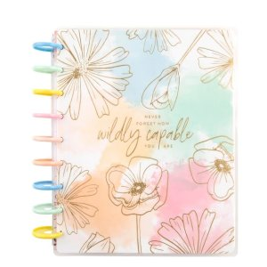 2021 Linear Florals Classic Vertical Happy Planner® - 12 Months