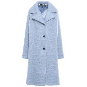 MCQ ALEXANDER MCQUEENBrushed wool-blend coat
