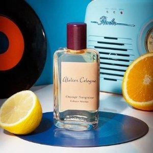 5折起 £78收咖啡晚香玉Atelier Cologne 欧珑香水全场热促 收情柚独钟、加州盛夏
