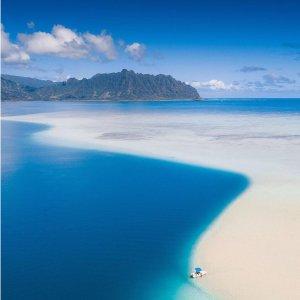 往返低至341 本月就可出发美国多城市至夏威夷4大岛机票超低价