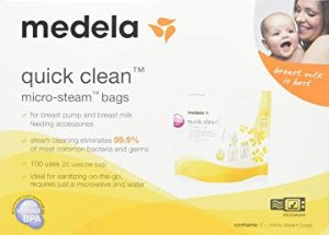 Up to 50% OffMedela, Breast Milk Storage Bags, Self-Standing Bag, Space-Saving Flat Profile, Hygienically Pre-Sealed @ Amazon