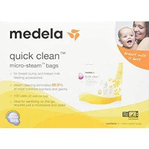 低至5折 $8.99起史低价:Medela 母乳储藏袋,6盎司,两种规格可选