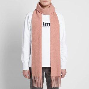 Acne Studios羊毛围巾