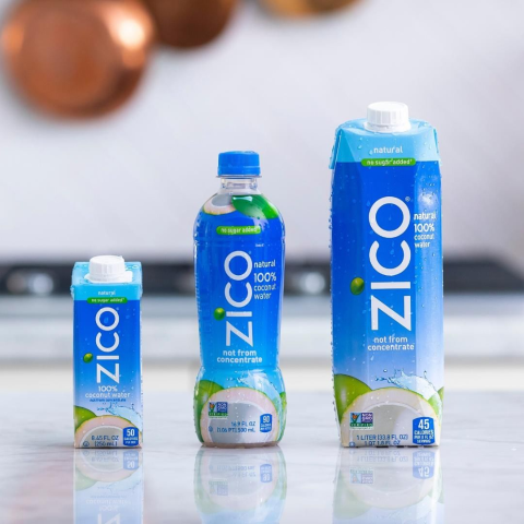 $20.25 + Free ShippingZICO Premium Natural Coconut Water Drinks Pack of 24