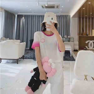 MajeTOBY 樱花粉T恤