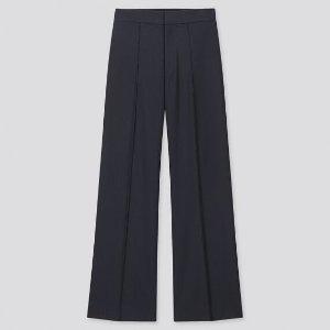 Uniqlo高腰阔腿裤
