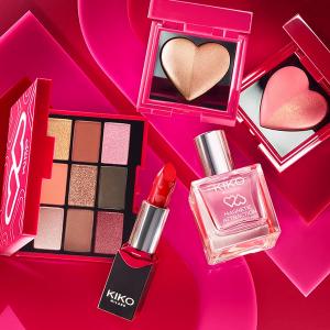 €12.99收爱心双色高光腮红KIKO 2020情人节限定系列全新上市 少女心炸裂